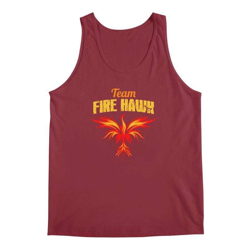 team fire hawk Men's Regular Tank by 8010az's Shop