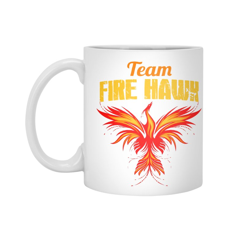 team fire hawk Accessories Standard Mug by 8010az's Shop