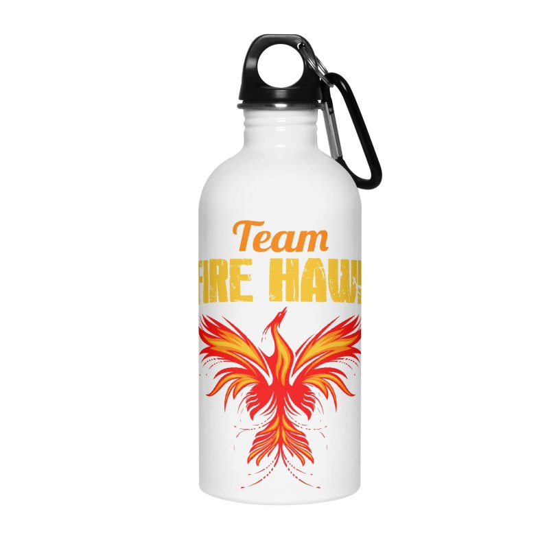 team fire hawk Accessories Water Bottle by 8010az's Shop