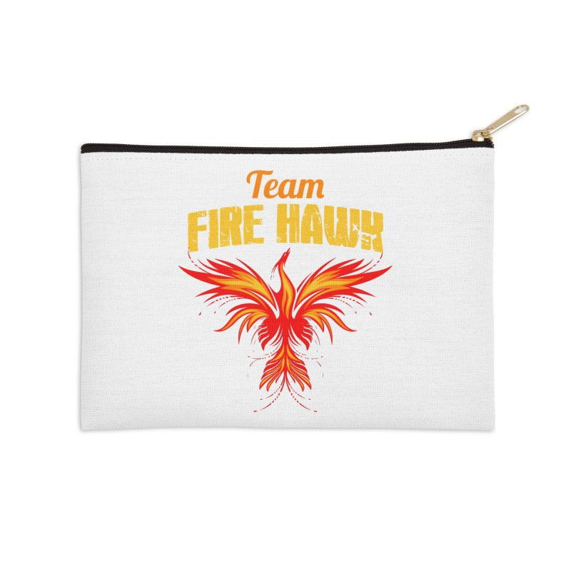 team fire hawk Accessories Zip Pouch by 8010az's Shop
