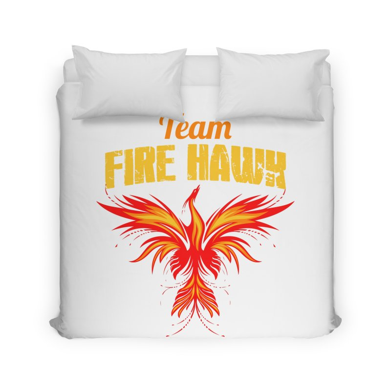 team fire hawk Home Duvet by 8010az's Shop
