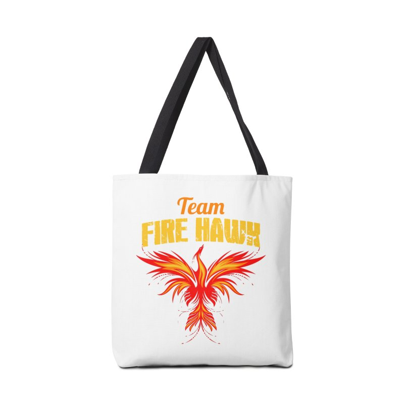 team fire hawk Accessories Tote Bag Bag by 8010az's Shop
