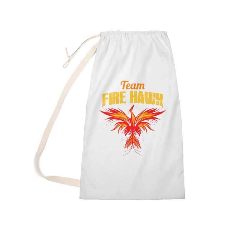 team fire hawk Accessories Laundry Bag Bag by 8010az's Shop
