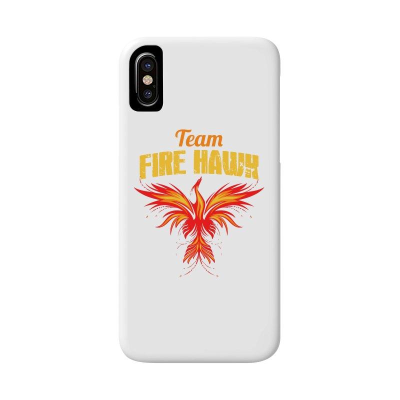 team fire hawk Accessories Phone Case by 8010az's Shop