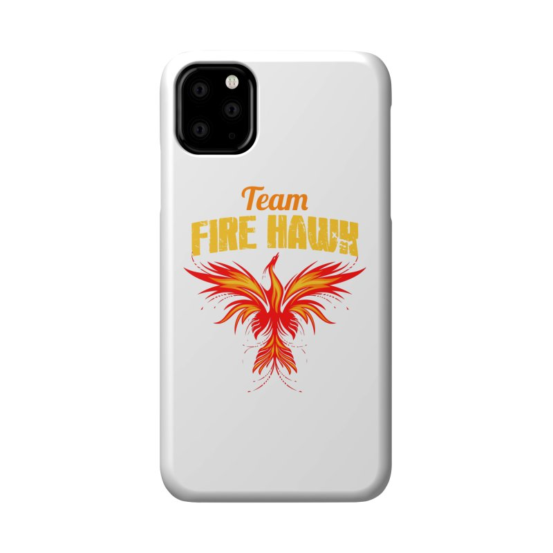 team fire hawk Accessories Phone Case by 8010az's Shop