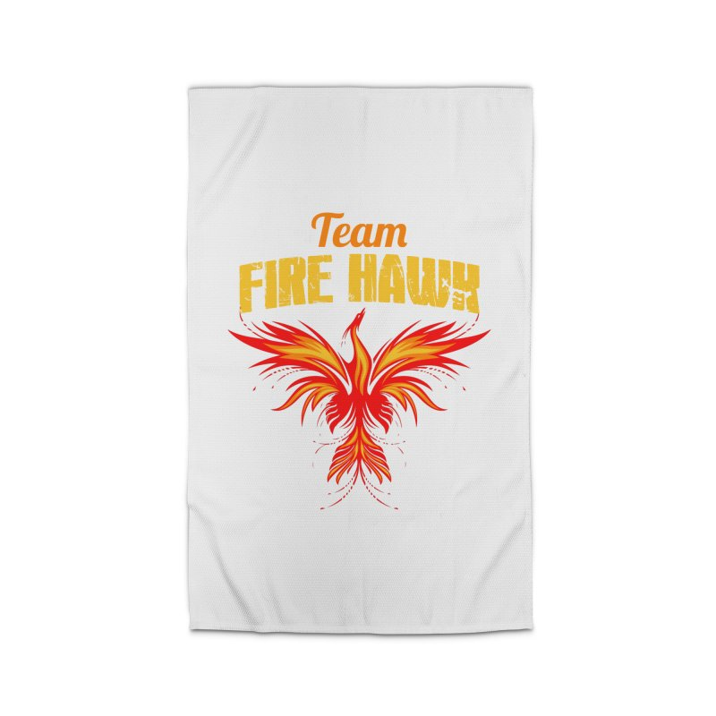 team fire hawk Home Rug by 8010az's Shop