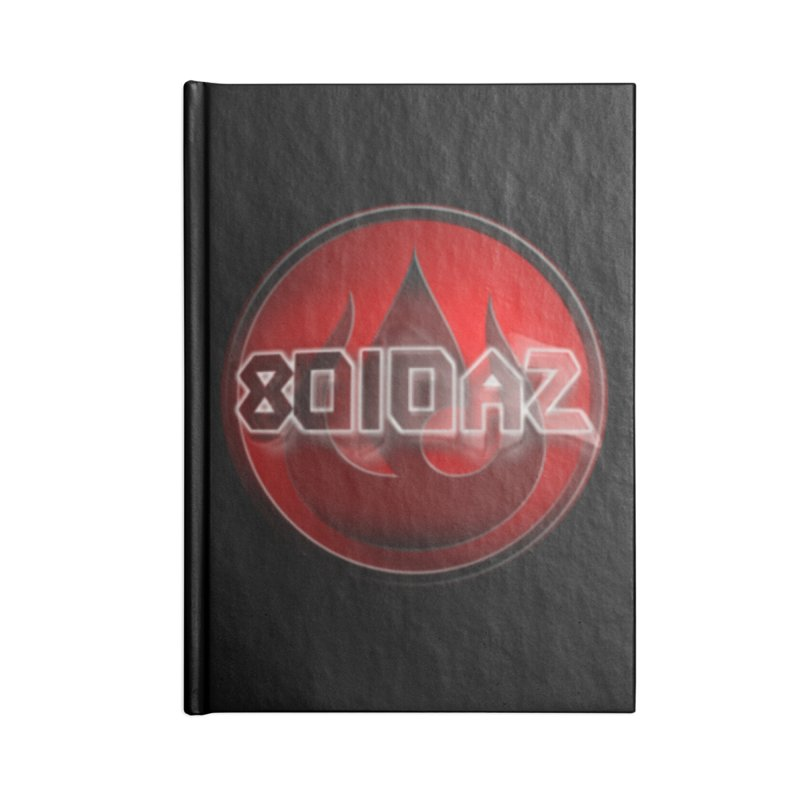 8010az Logo Accessories Notebook by 8010az's Shop