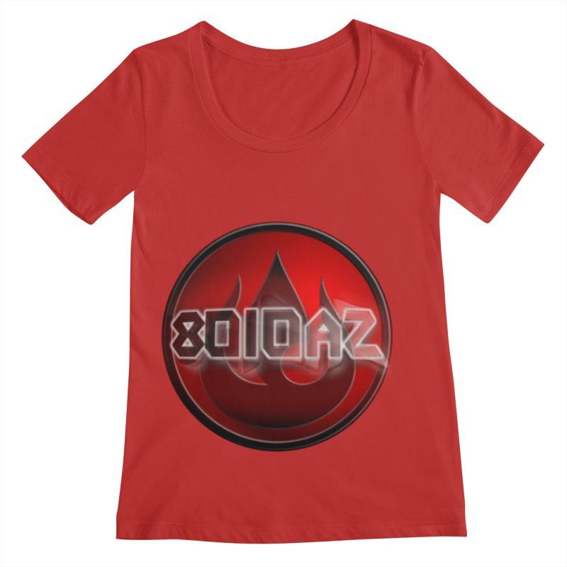 8010az Logo Women's Regular Scoop Neck by 8010az's Shop