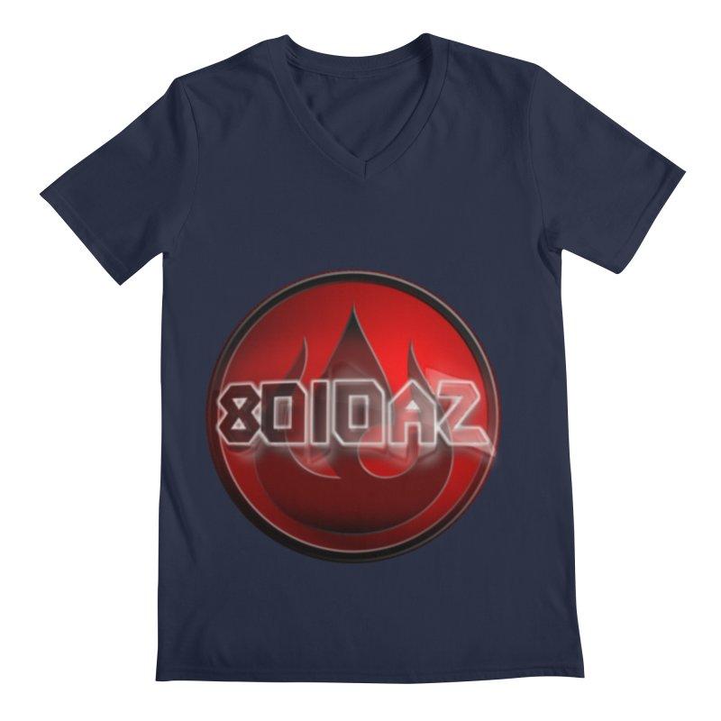 8010az Logo Men's Regular V-Neck by 8010az's Shop