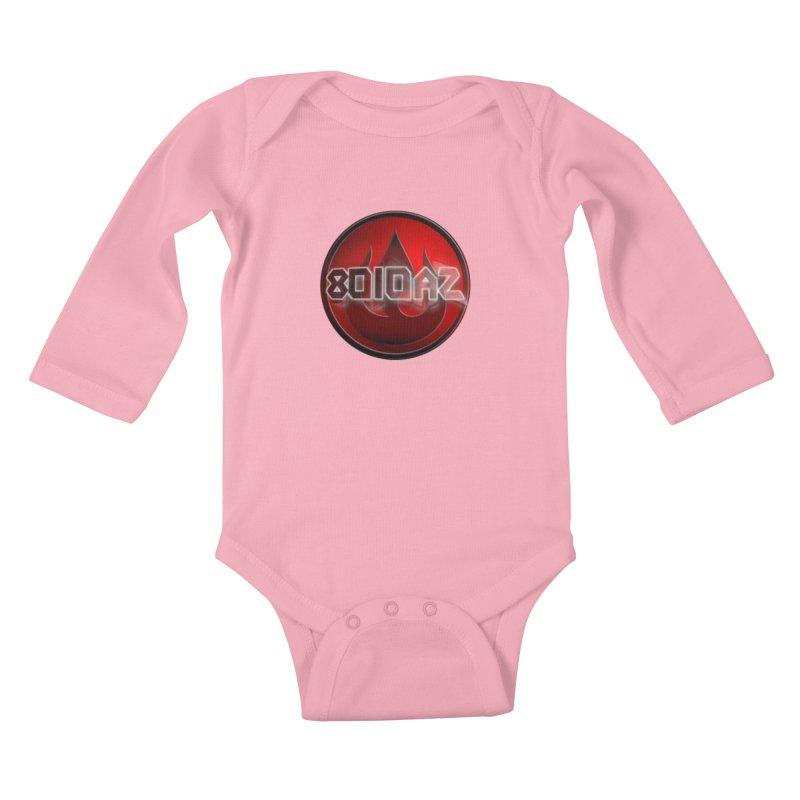 8010az Logo Kids Baby Longsleeve Bodysuit by 8010az's Shop