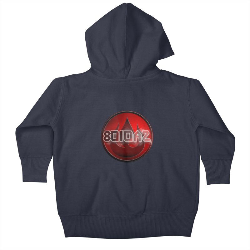 8010az Logo Kids Baby Zip-Up Hoody by 8010az's Shop