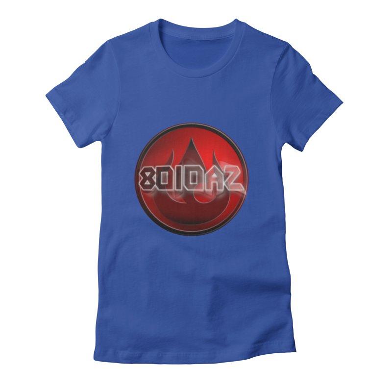 8010az Logo Women's Fitted T-Shirt by 8010az's Shop