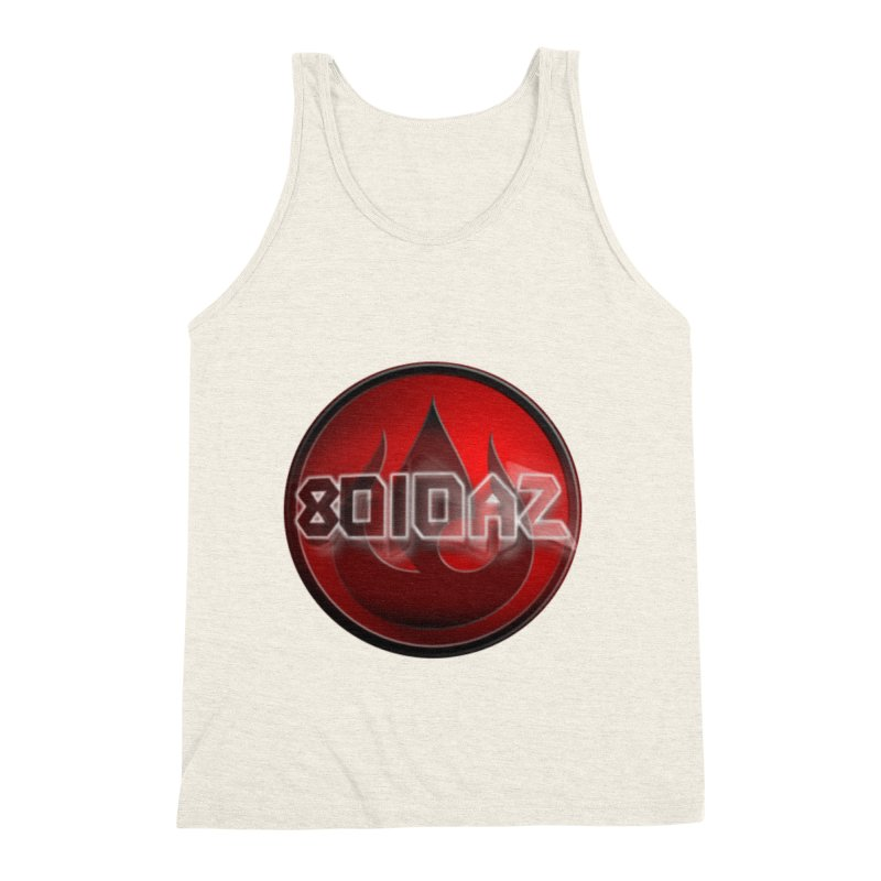 8010az Logo Men's Triblend Tank by 8010az's Shop