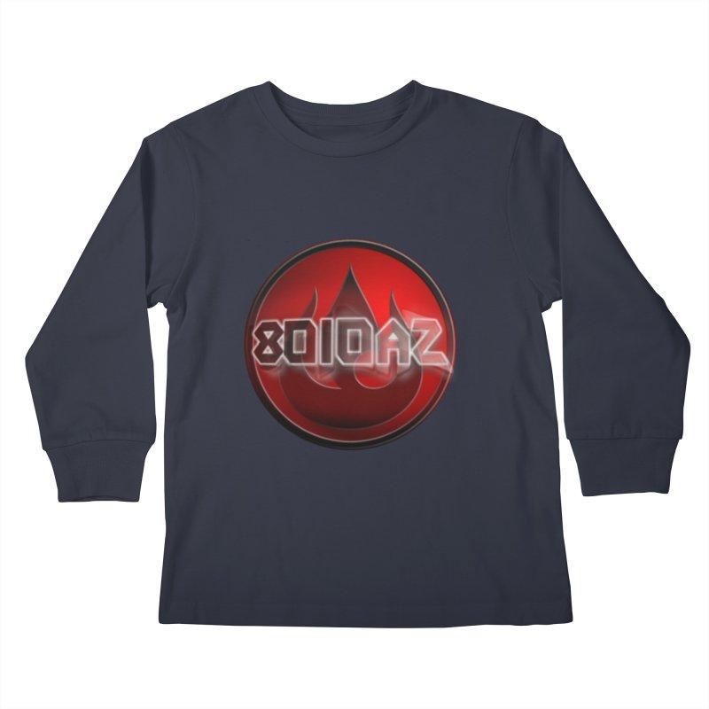 8010az Logo Kids Longsleeve T-Shirt by 8010az's Shop