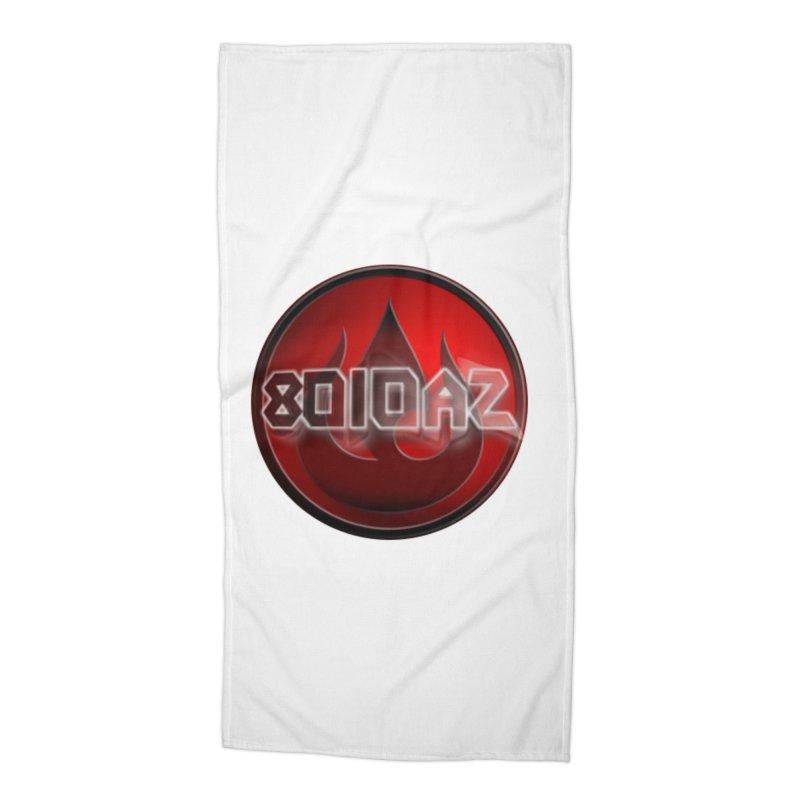 8010az Logo Accessories Beach Towel by 8010az's Shop