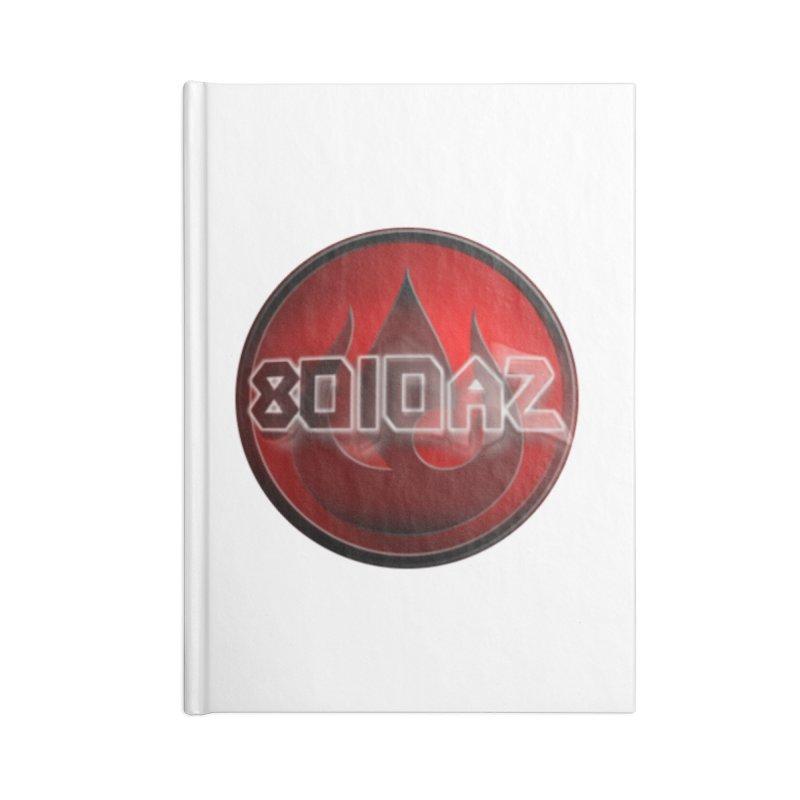 8010az Logo Accessories Notebook by 8010az's Shop