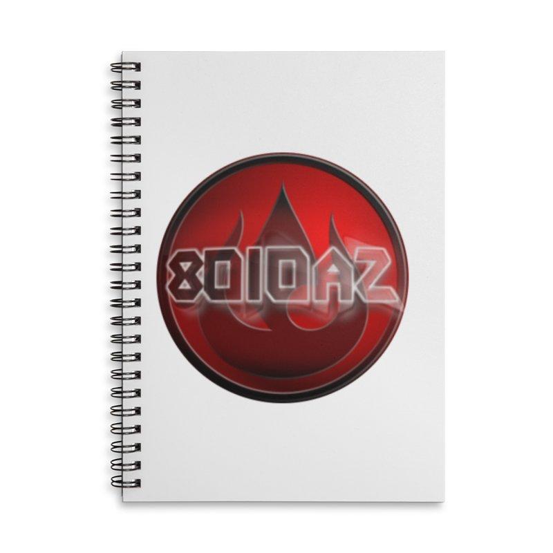 8010az Logo Accessories Lined Spiral Notebook by 8010az's Shop