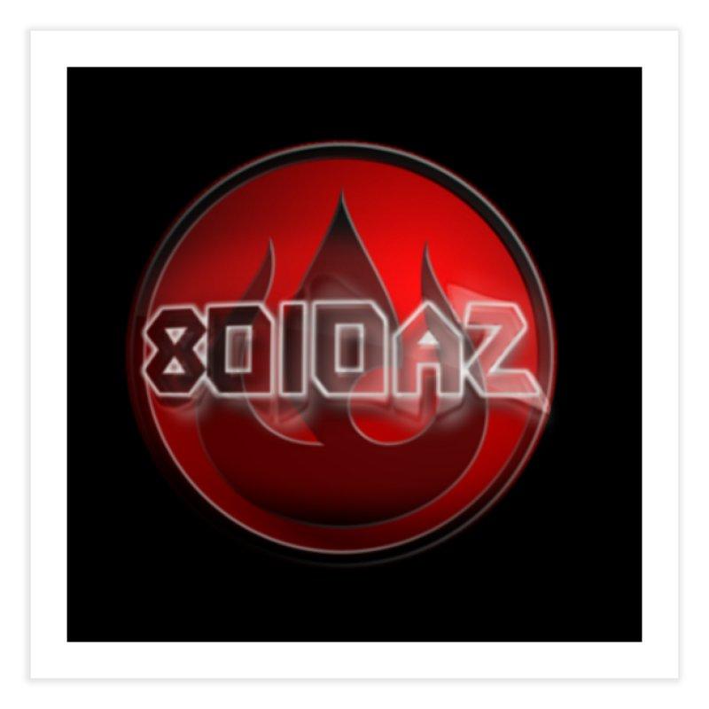 8010az Logo Home Fine Art Print by 8010az's Shop