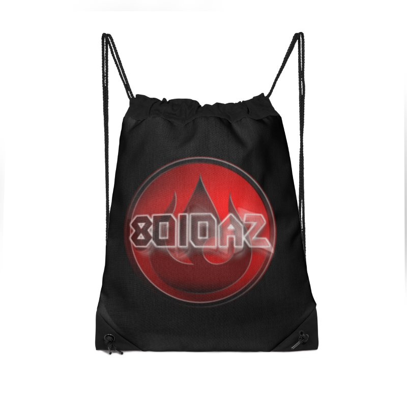 8010az Logo Accessories Drawstring Bag Bag by 8010az's Shop