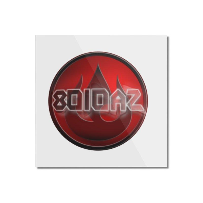 8010az Logo Home Mounted Acrylic Print by 8010az's Shop