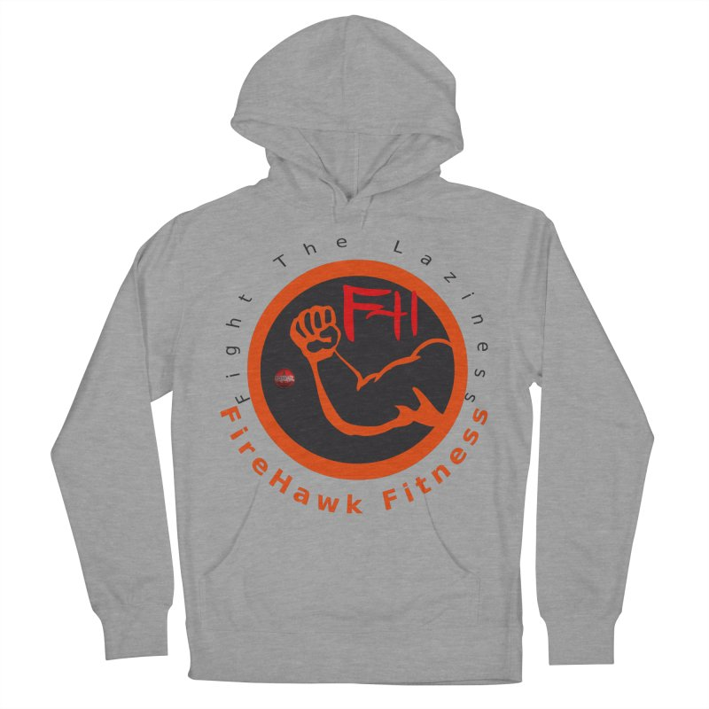 FireHawk Fitness Men's French Terry Pullover Hoody by 8010az's Shop