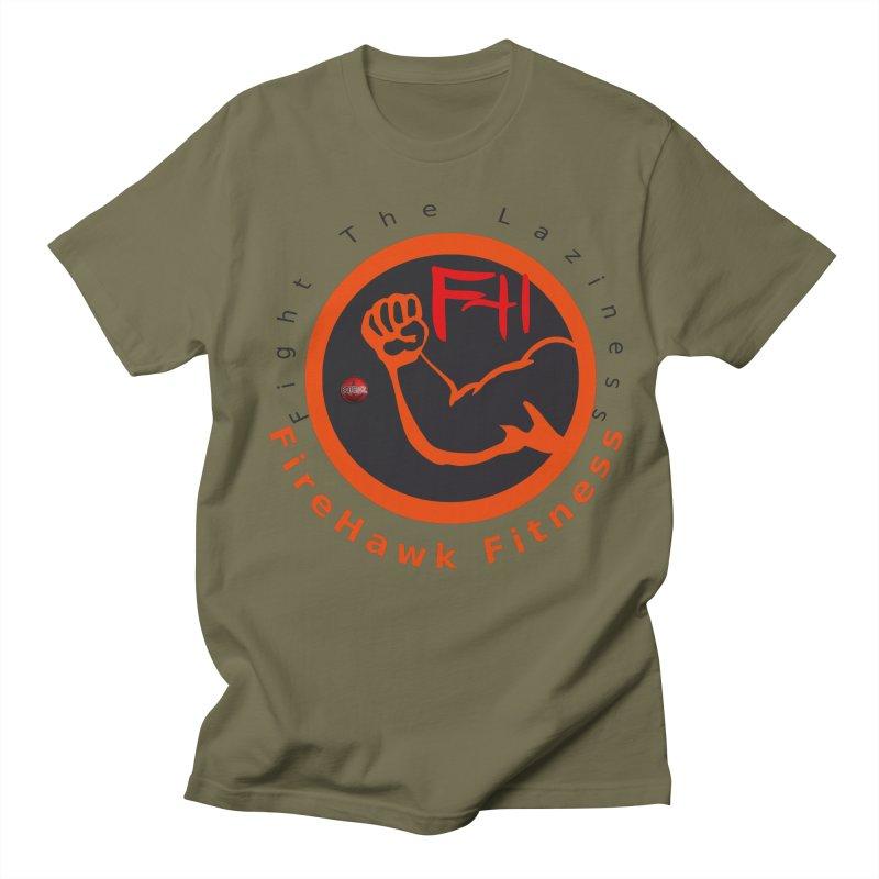 FireHawk Fitness Men's Regular T-Shirt by 8010az's Shop