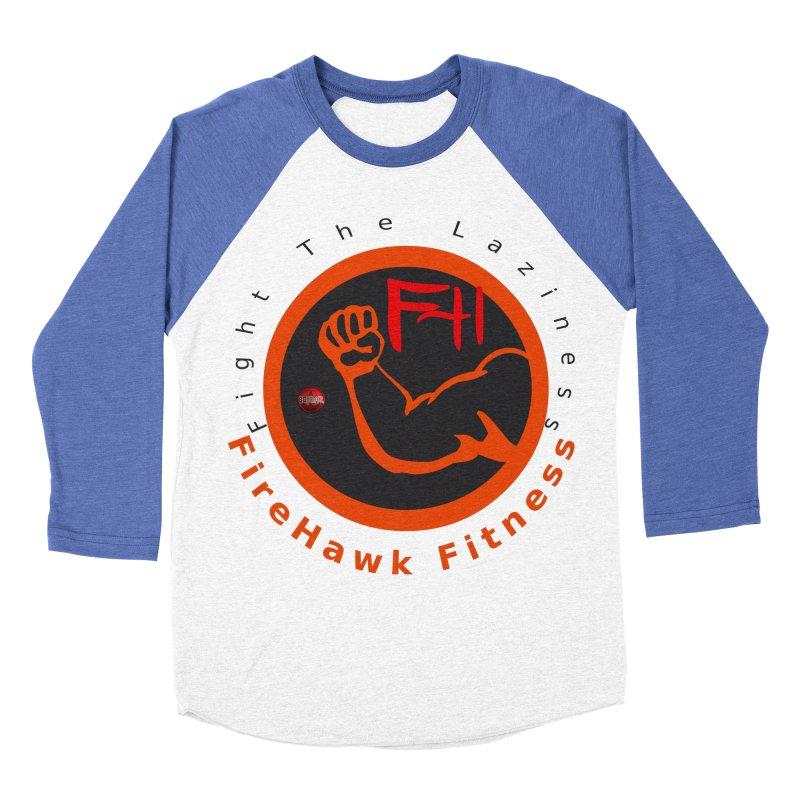 FireHawk Fitness Women's Baseball Triblend Longsleeve T-Shirt by 8010az's Shop