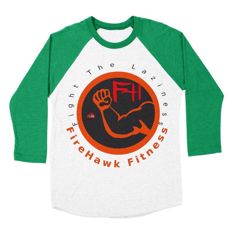 FireHawk Fitness Men's Baseball Triblend Longsleeve T-Shirt by 8010az's Shop