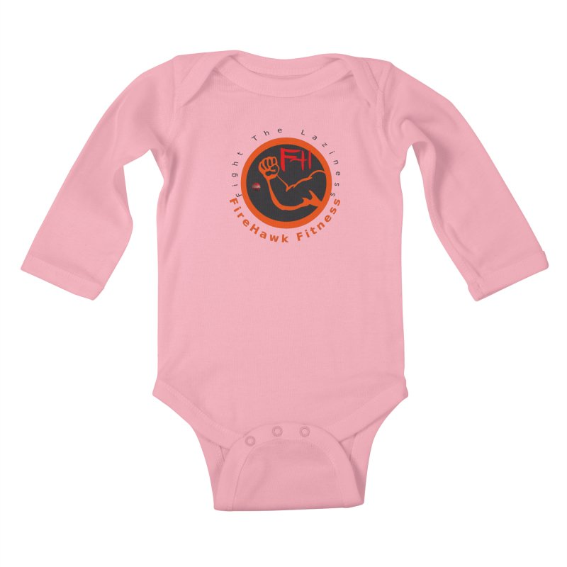 FireHawk Fitness Kids Baby Longsleeve Bodysuit by 8010az's Shop