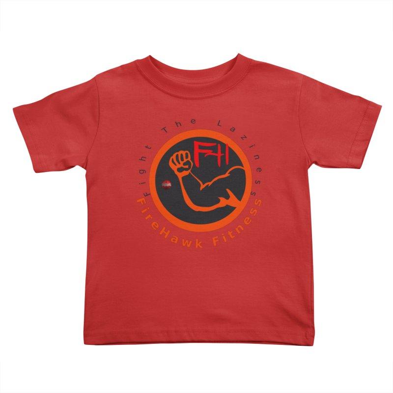 FireHawk Fitness Kids Toddler T-Shirt by 8010az's Shop