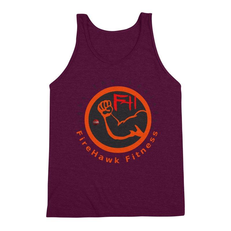 FireHawk Fitness Men's Triblend Tank by 8010az's Shop