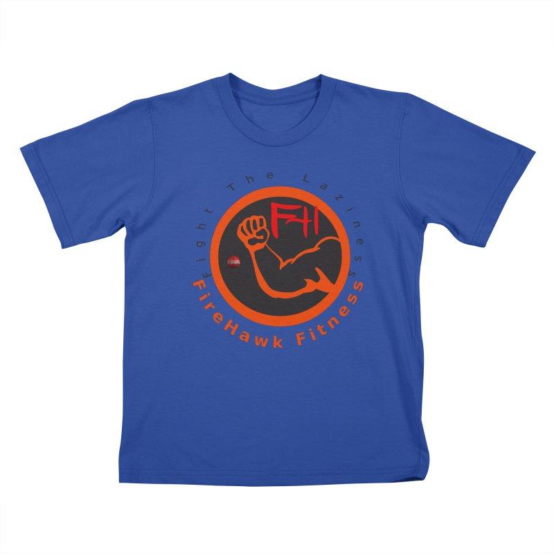 FireHawk Fitness Kids T-Shirt by 8010az's Shop