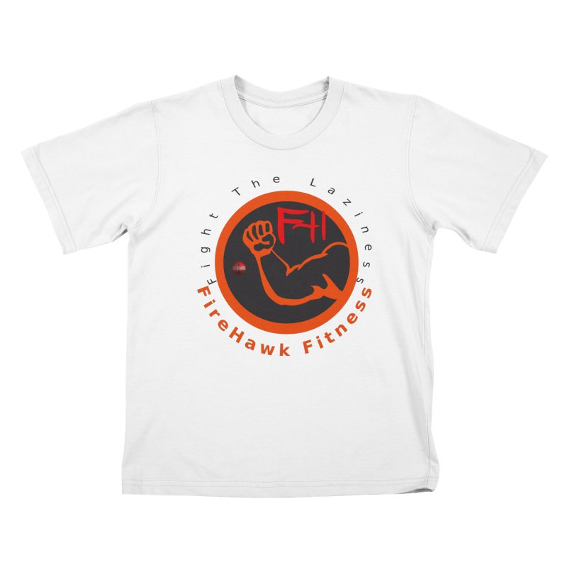 FireHawk Fitness Kids T-Shirt by 8010az's Shop