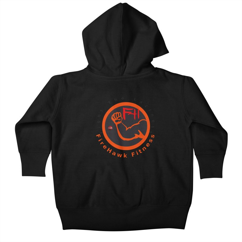 FireHawk Fitness Kids Baby Zip-Up Hoody by 8010az's Shop