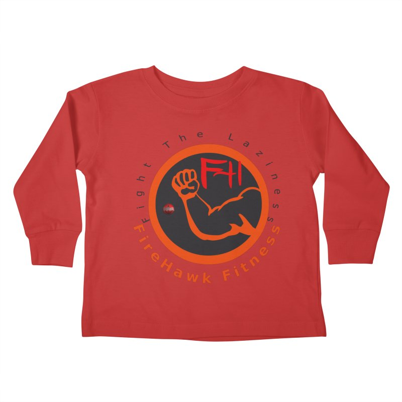 FireHawk Fitness Kids Toddler Longsleeve T-Shirt by 8010az's Shop