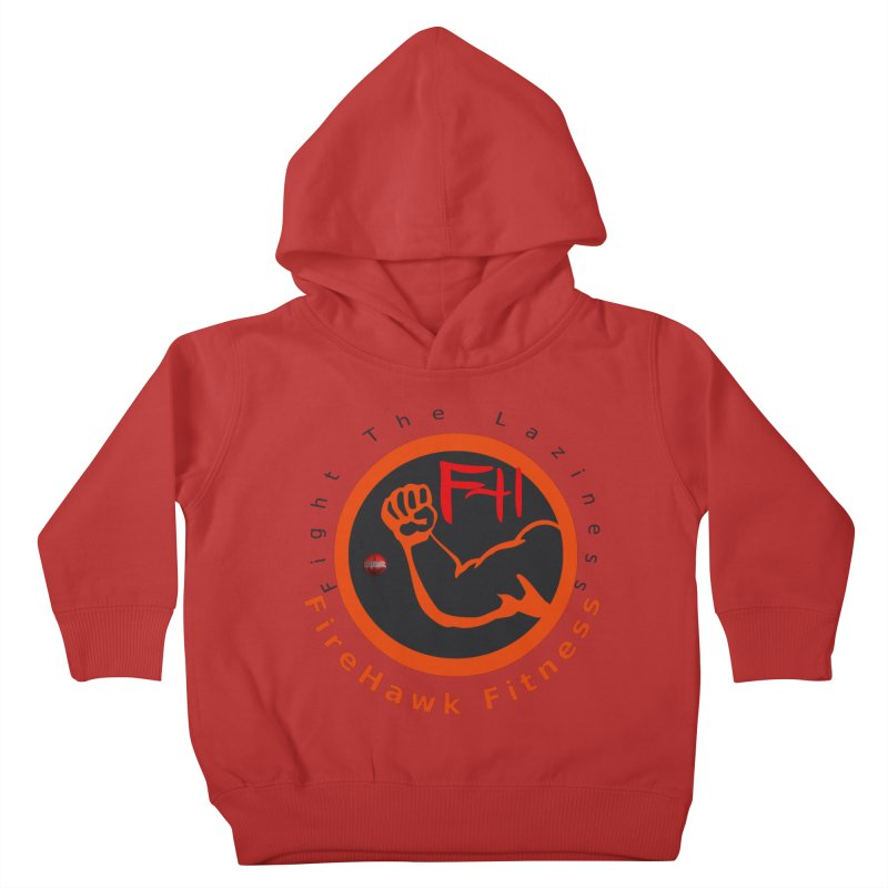 FireHawk Fitness Kids Toddler Pullover Hoody by 8010az's Shop