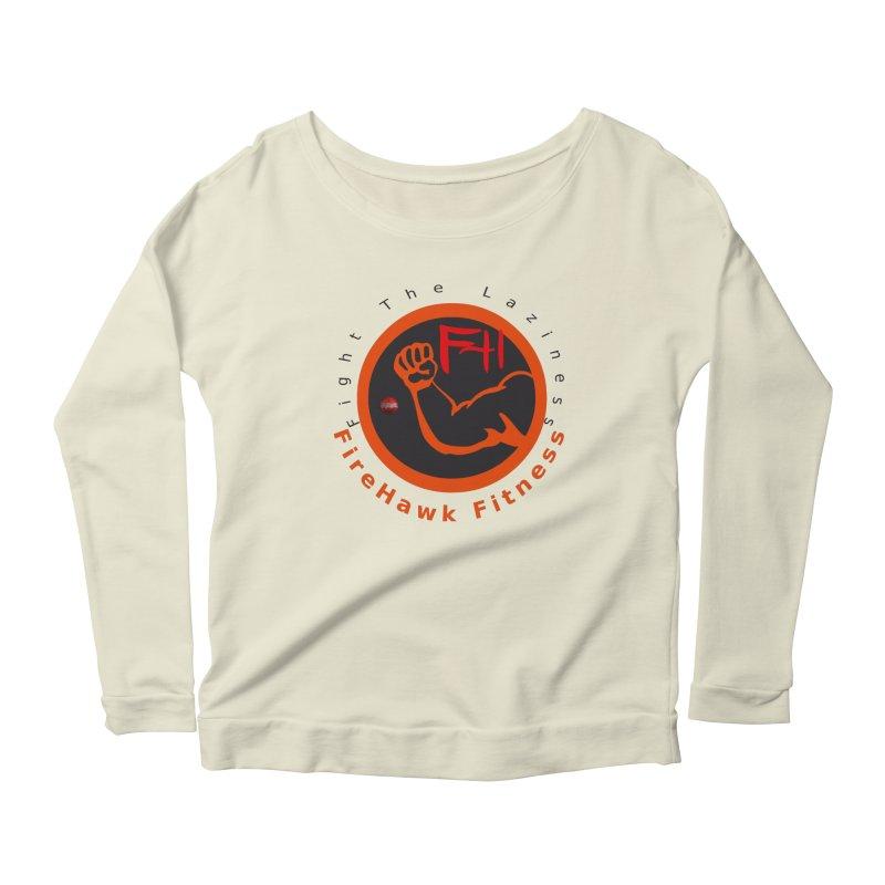 FireHawk Fitness Women's Scoop Neck Longsleeve T-Shirt by 8010az's Shop
