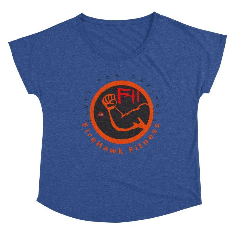 FireHawk Fitness Women's Dolman Scoop Neck by 8010az's Shop