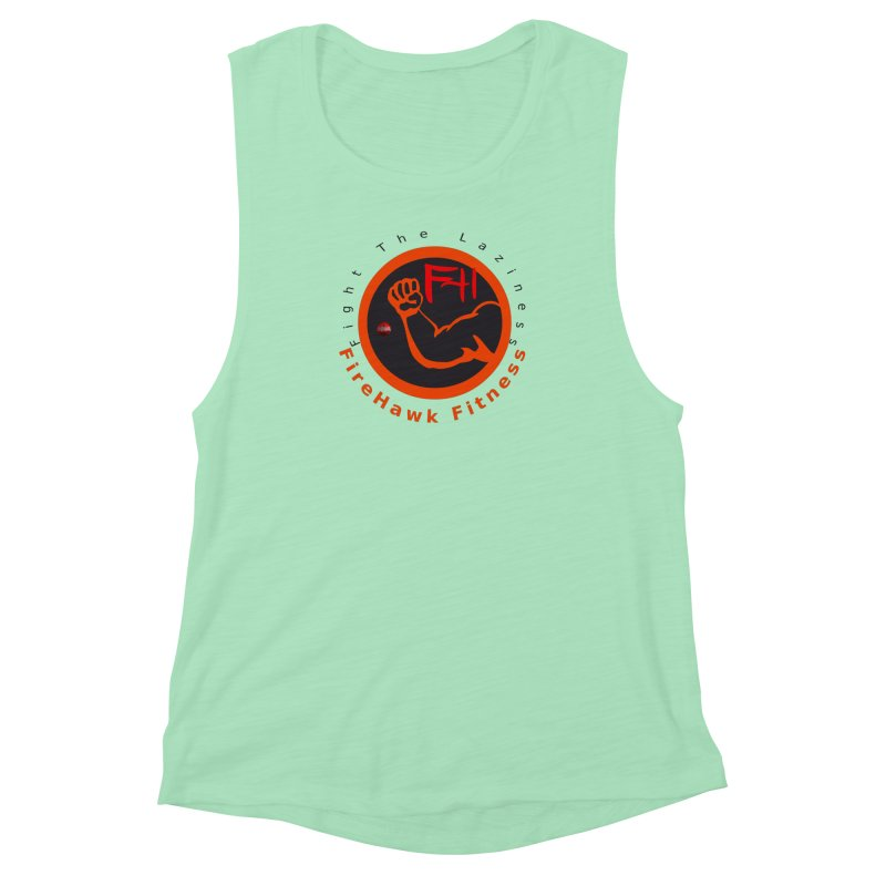 FireHawk Fitness Women's Muscle Tank by 8010az's Shop