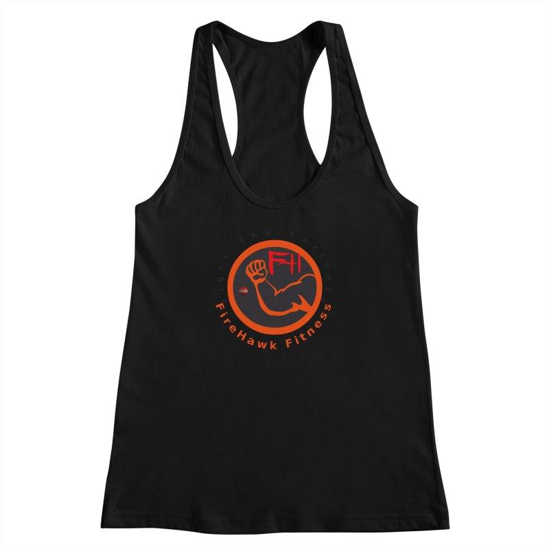 FireHawk Fitness Women's Racerback Tank by 8010az's Shop