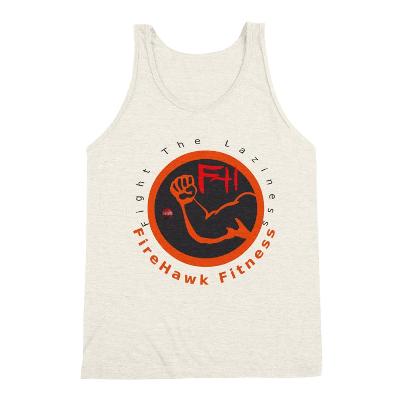 FireHawk Fitness Men's Triblend Tank by 8010az's Shop