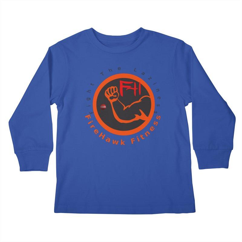 FireHawk Fitness Kids Longsleeve T-Shirt by 8010az's Shop
