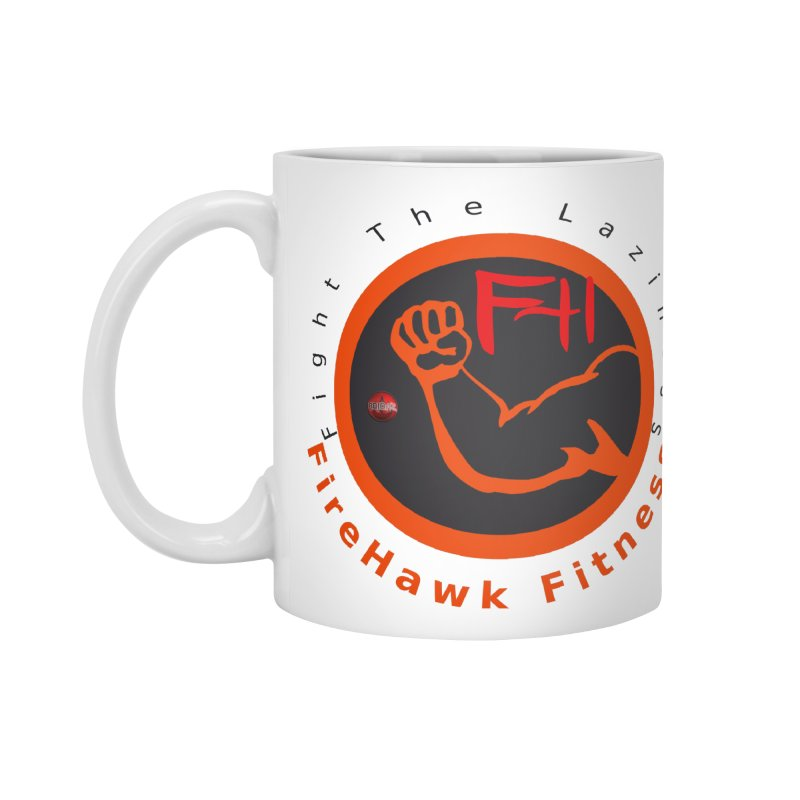 FireHawk Fitness Accessories Standard Mug by 8010az's Shop