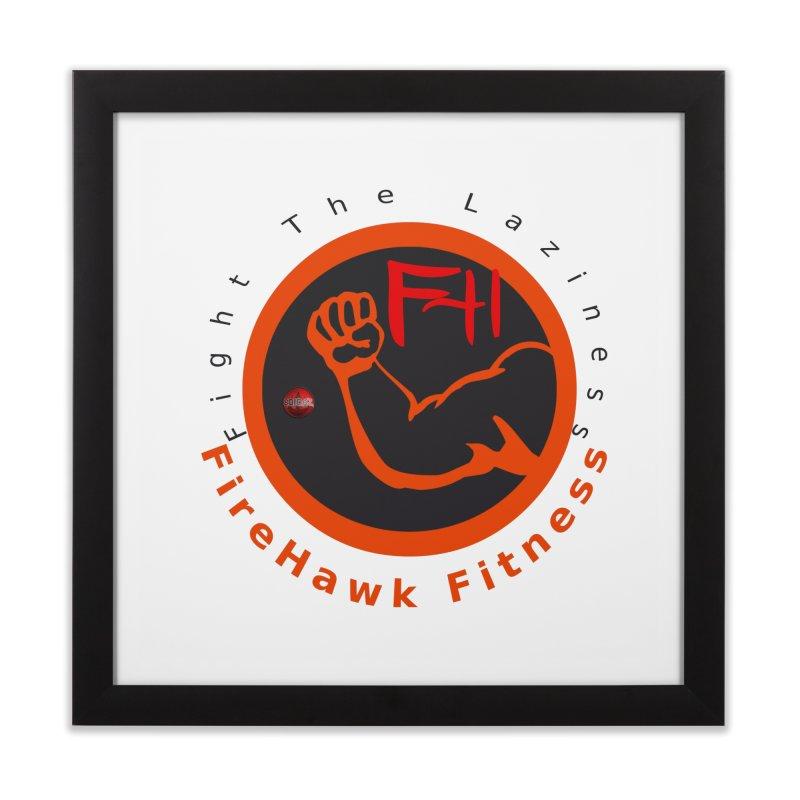 FireHawk Fitness Home Framed Fine Art Print by 8010az's Shop