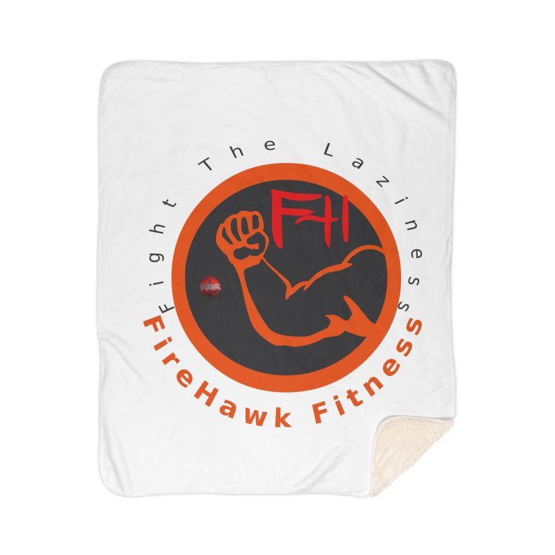 FireHawk Fitness Home Sherpa Blanket Blanket by 8010az's Shop