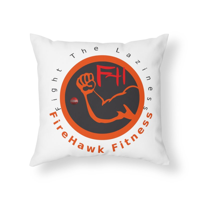 FireHawk Fitness Home Throw Pillow by 8010az's Shop