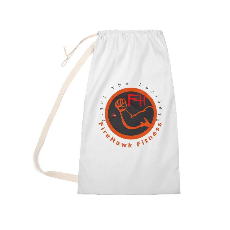FireHawk Fitness Accessories Laundry Bag Bag by 8010az's Shop
