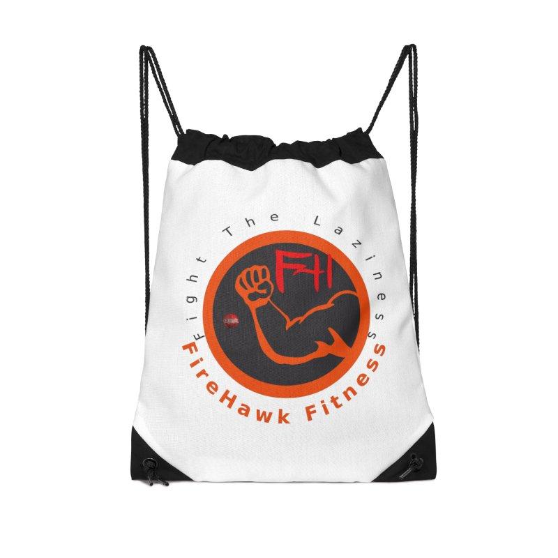 FireHawk Fitness Accessories Drawstring Bag Bag by 8010az's Shop