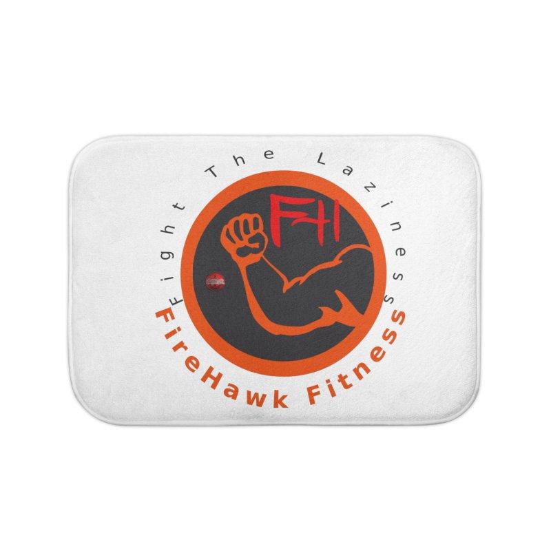 FireHawk Fitness Home Bath Mat by 8010az's Shop