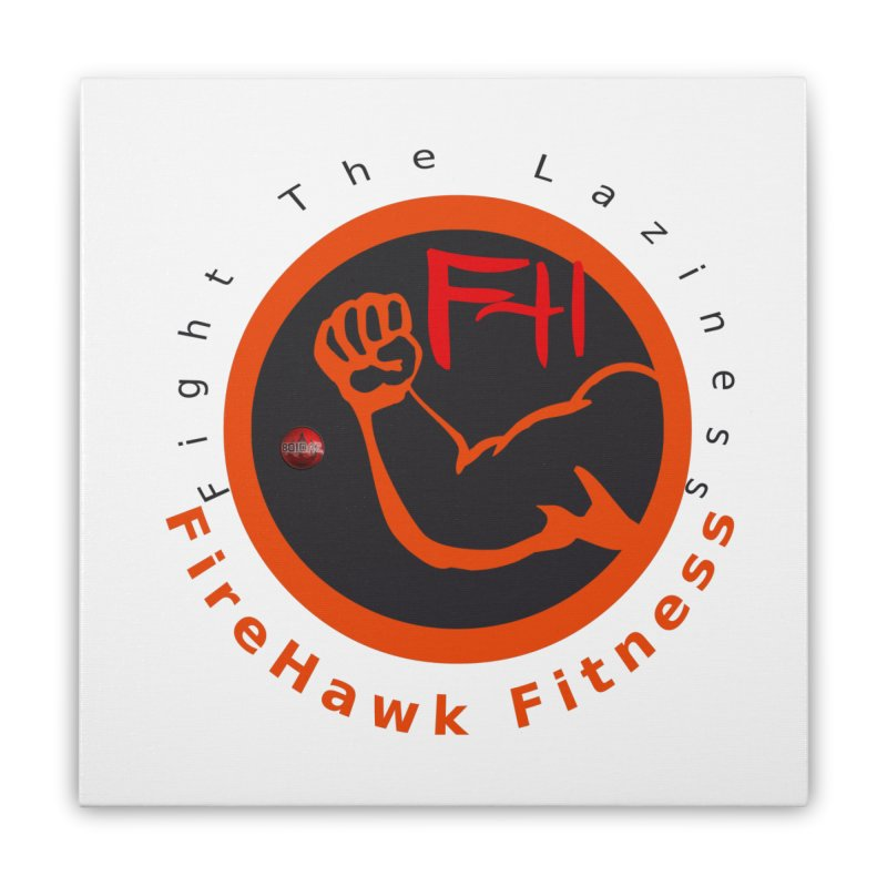 FireHawk Fitness Home Stretched Canvas by 8010az's Shop